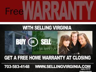 FREE WARRANTY WHEN YOU CLOSE 12/8/14-3/3/2015