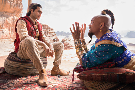 Aladdin first look