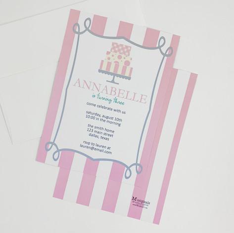 Cake Invitations