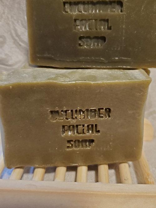 Cucumber Green Tea Premium Facial Soap