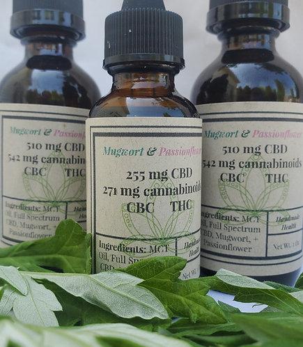 Mugwort + Passion Flower CBD Oil