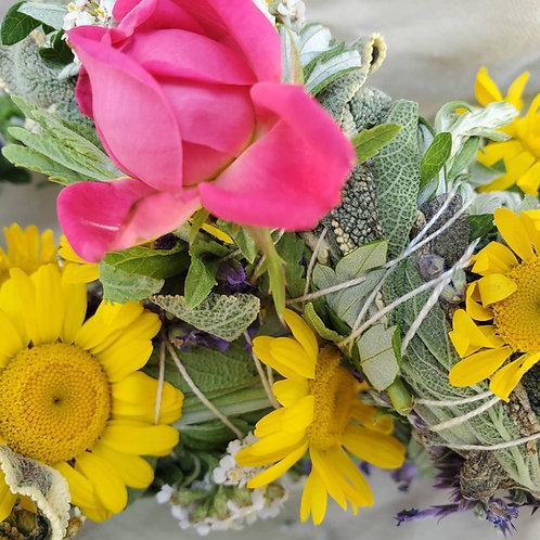 Floral and Herbal Smudge Bundles