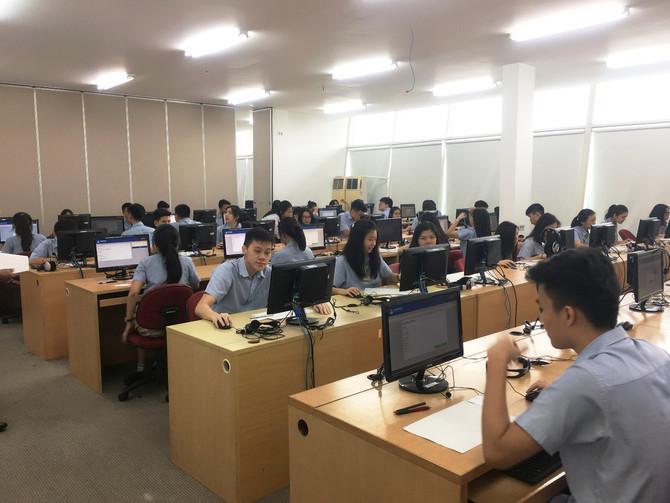 Siswa UPHC Sukses Mengikuti UNBK 2018