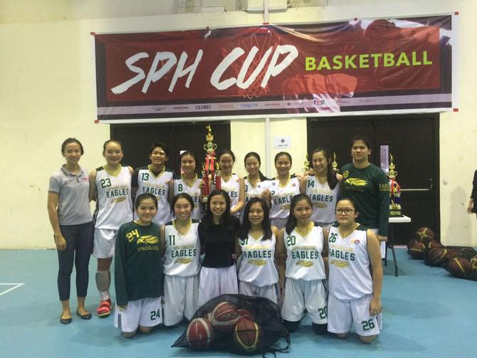 Tim Basket Putri Juara 1 di SPH CUP 2018