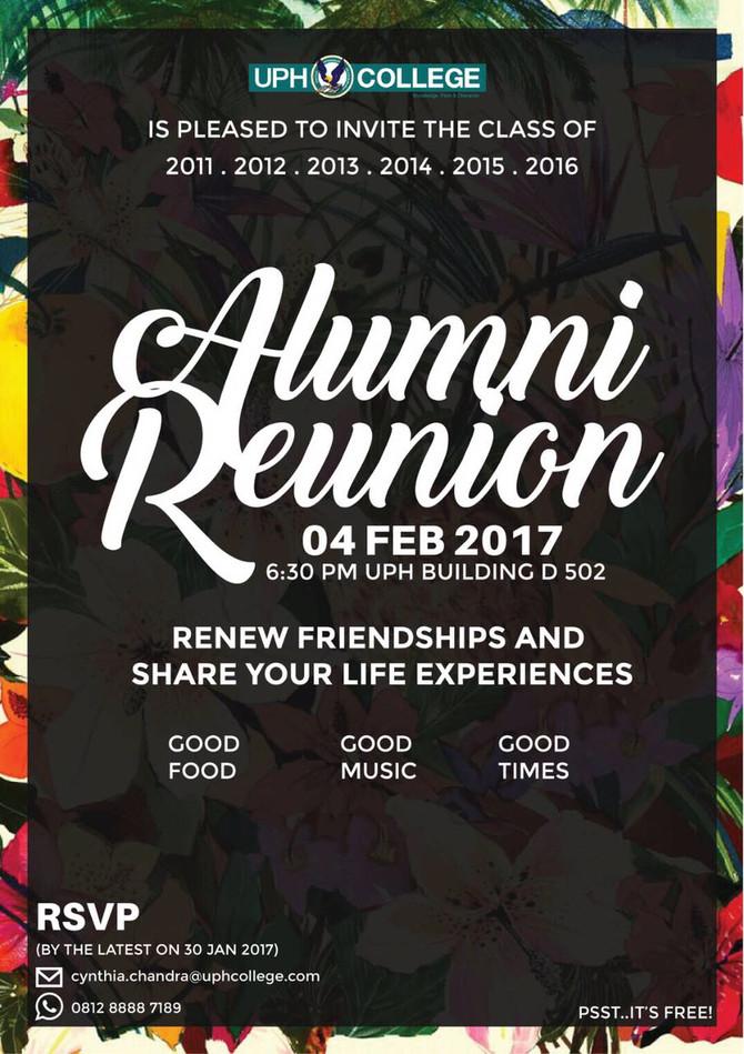 UPH College Alumni Reunion
