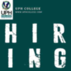 Career at UPH College