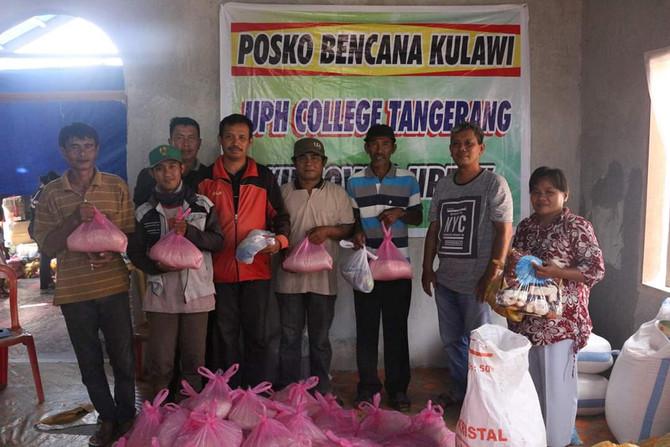 Aksi Kemanusiaan UPH College untuk Korban Gempa dan Tsunami di Palu