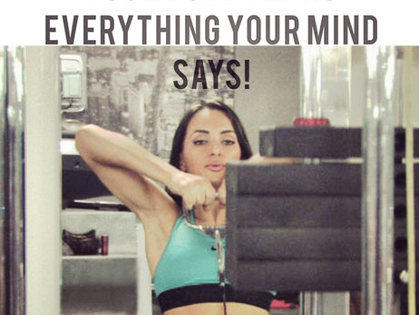 YOUR BODY HEARS EVERYTHING YOUR MIND SAYS!
