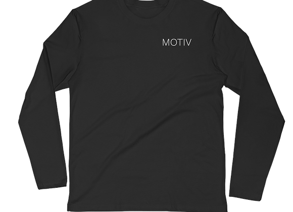 MOTIV Long Sleeve Fitted Crew