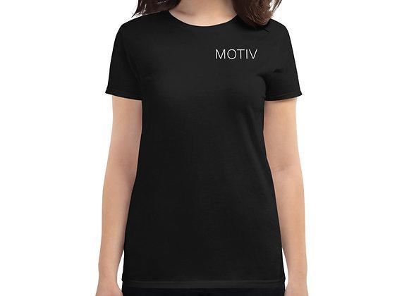 MOTIV Fitted Women's Short Sleeve t-shirt