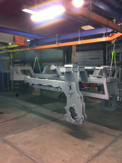 Chassis tracteur sablage