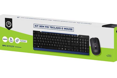 Kit Teclado + Mouse S/Fio