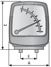 MDM40 магнитный манометр перепада давления