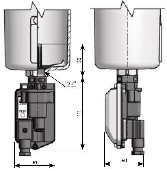 Электронный конденсатоотводчик для фильтров сжатого воздуха