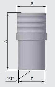 Сепаратор сжатого воздуха высокого давления, размеры