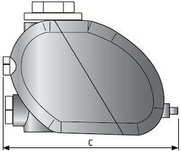 Размеры конденсатоотводчиков
