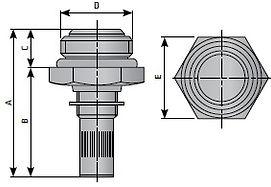 Ручной металлический  конденсатоотводчик