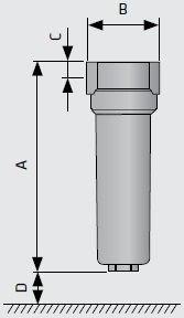 Защиные фильтры для вакуумных насосов размеры