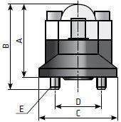 Индикатор перепада давления на фильтре сжатого воздуха