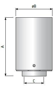 Процессный фильтр сапун резервуар, размеры и пропускная способность