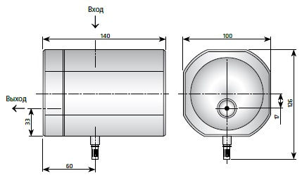 Отводчик конденсата сжатого воздуха высокого давления