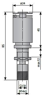 Конденсатоотводчик для фильтра сжатого воздуха