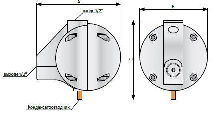 Полуавтоматический конденсатоотводчик высокого давления