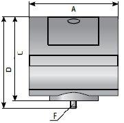 Индикатор перепада давления фильтра сжатого воздуха