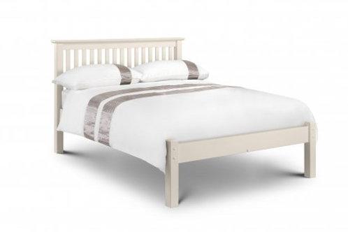 Barcelona White Low Foot 4ft6 Bedframe