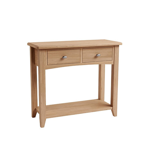 Whitley Oak Large Console