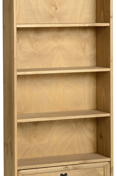 AlbanyDVD Bookcase with Drawer