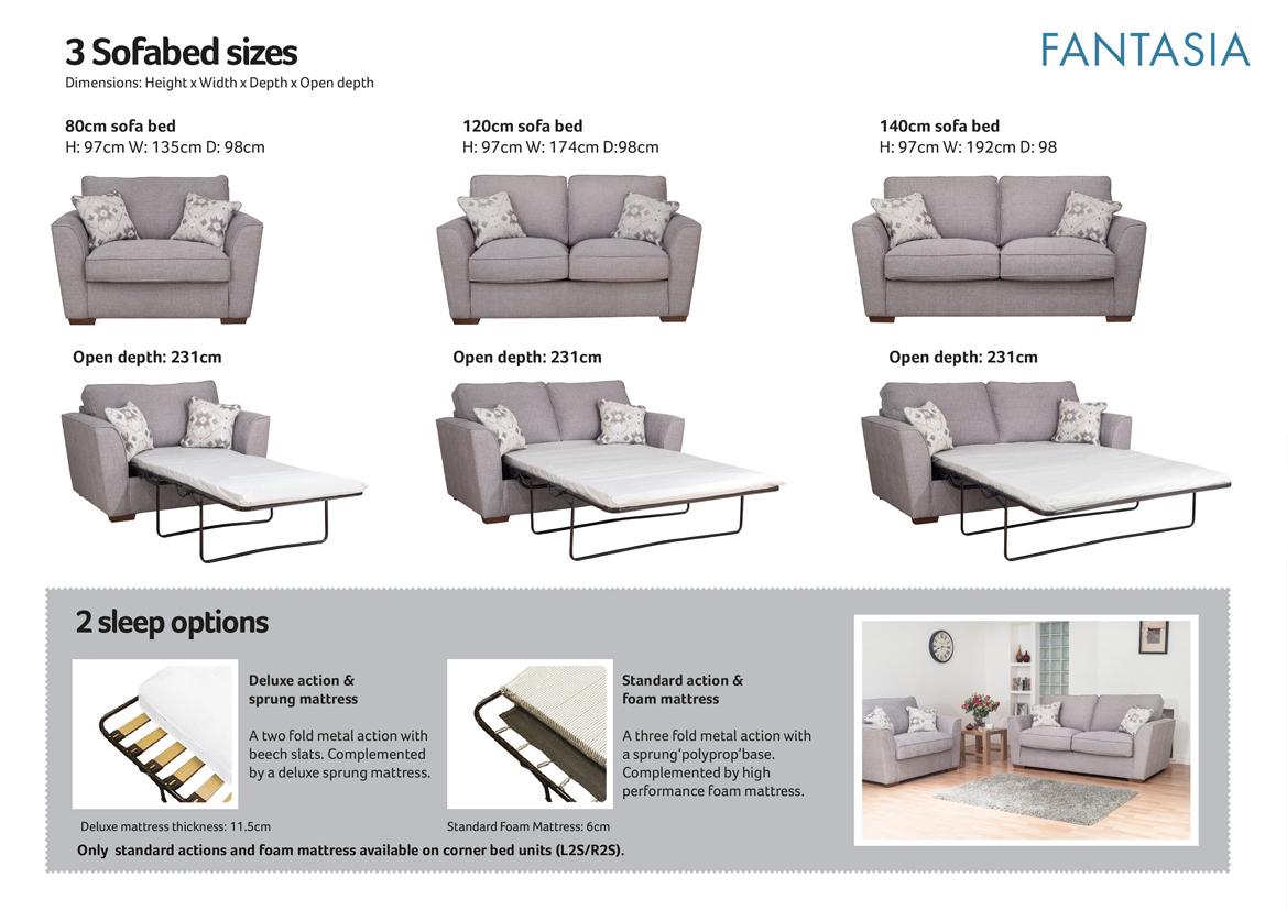 fantasia sofa bed