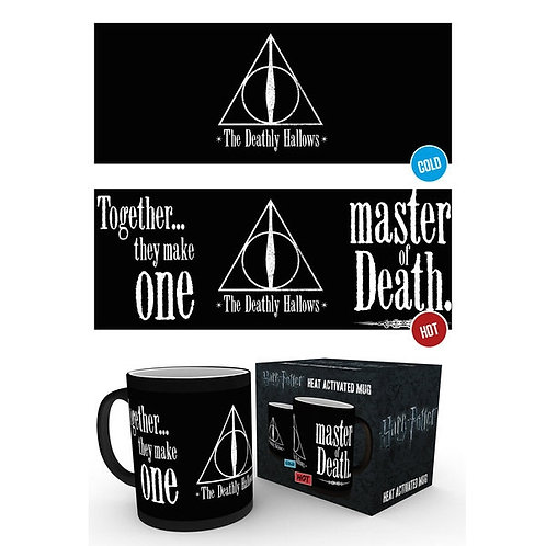 Heat Change Deathly Hallows Mug