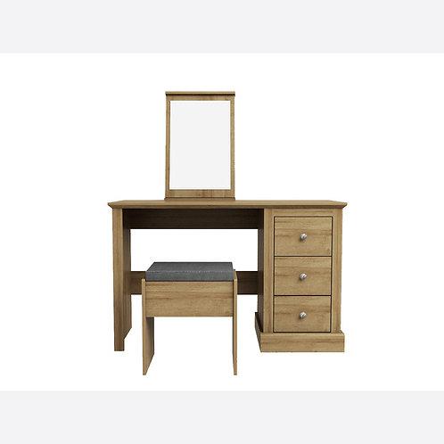 Dartmoor Oak Dressing Table Set