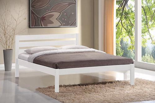 4ft6 Eco Bedframe - White