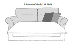 tosca sofabed drawing
