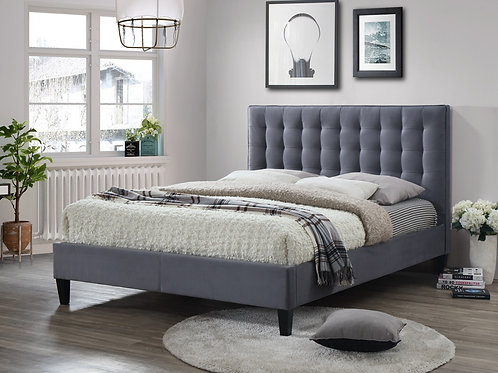 5 ft Becky Upholstered Bedframe