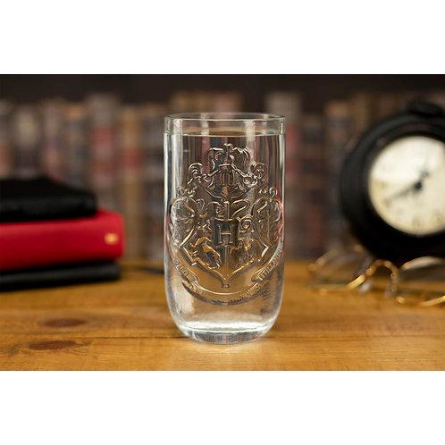 Embossed Hogwarts Glass