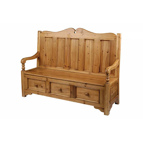 Georgian Hall Seat -3 seater