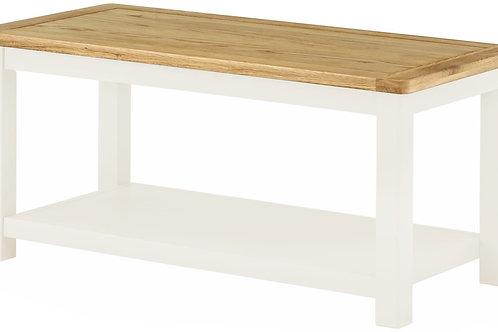 Oban White Coffee Table