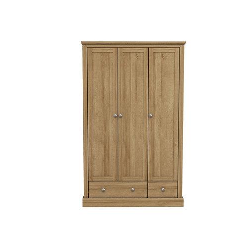 Dartmoor Oak 3 Door Robe