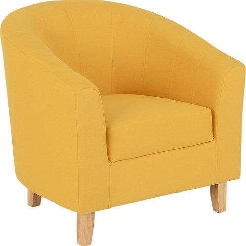 Contempo Tub Chair - Mustard