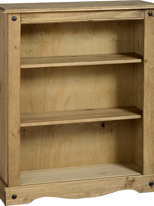 Albany Rustic Low Bookcase