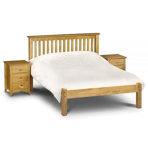 Barcelona 5ft Low Foot Pine Bed