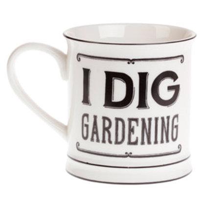 Sass and Belle I dig gardening Mug