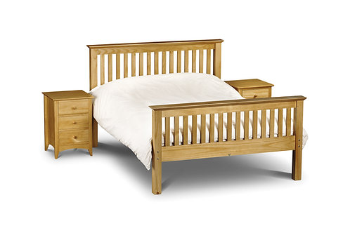 Barcelona Pine High Foot 4ft6 Bedframe