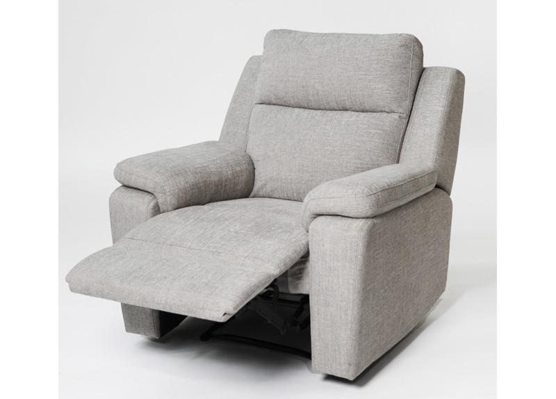 Jackson Reclining Chair Grey