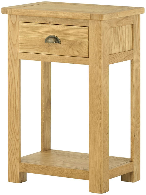 Oban Oak Small Console Table