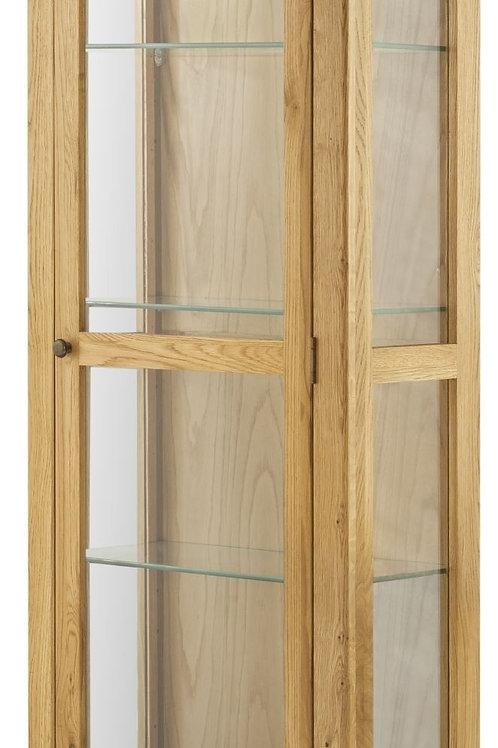 Oban Oak Display Cabinet