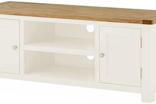 Oban White Large TV Cabinet
